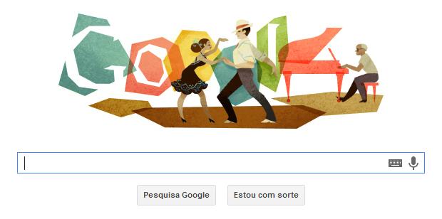 Google fez homenagem a Ary Barroso no Doodle (Foto: Reprodução/Thiago Barros)
