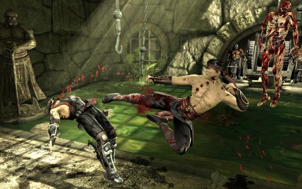 Mortal Kombat em promoção no PS Vita (Foto: Divulgação)