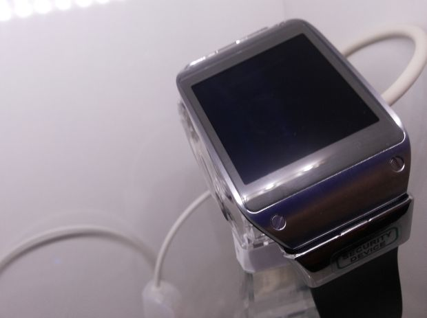 Galaxy Gear possui um hardware agradável, mas é caro (Foto: Pedro Zambarda/TechTudo)