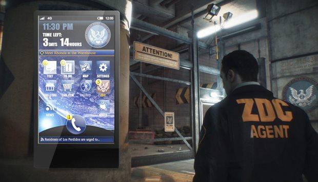 SmartGlass vai imitar celular real em Dead Rising 3 (Foto: DIvulgação)