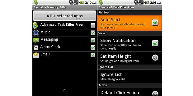 Feche aplicativos que não estão em uso e libere memória com o Advanced Task Manager (Foto: Reprodução/Google Play)