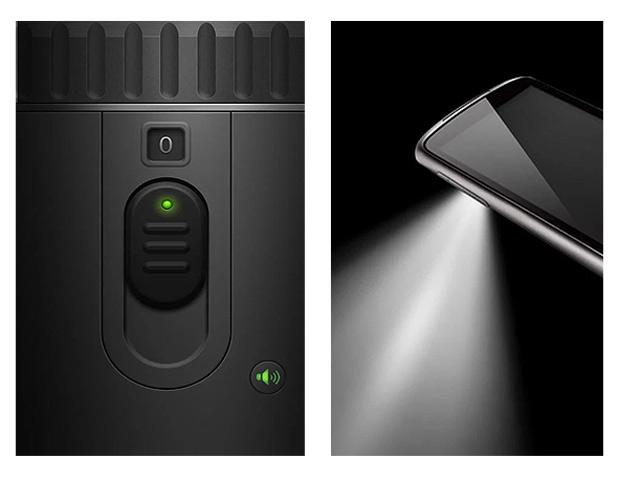 A câmera do smartphone vira lanterna com o Flashlight (Foto: Reprodução/Google Play)