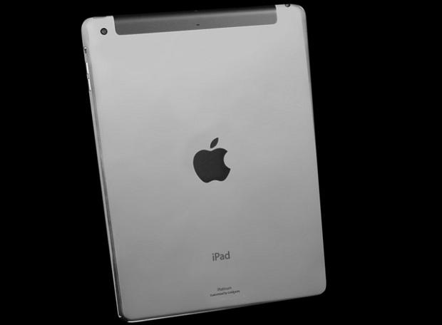 iPad Air de platina é o mais caro da coleção (Foto: Divulgação)
