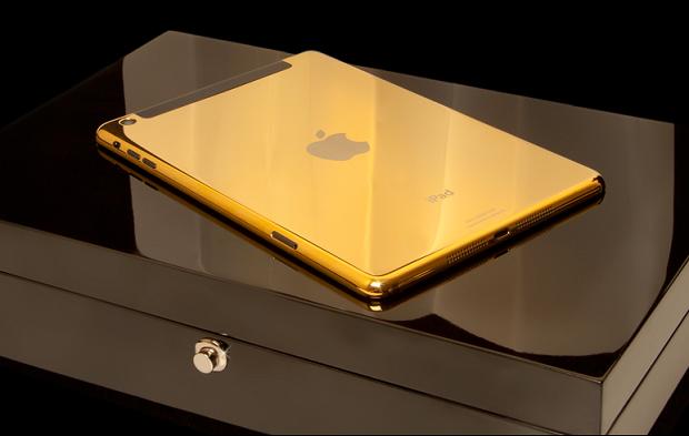 iPad mini de ouro custa mais de R$ 4 mil (Foto: Divulgação)