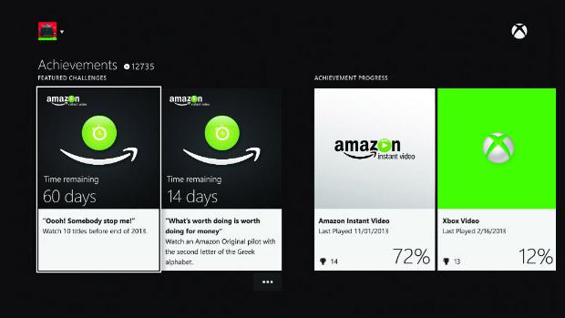 Dashboard do Xbox One. (Foto: Divulgação)