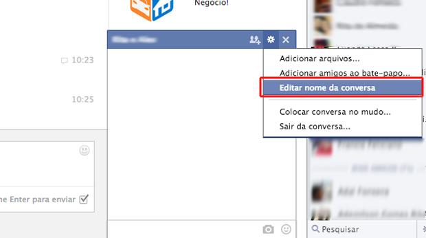 Adicionando um novo amigo para criar uma conversa em grupo no Facebook. (Foto: Reprodução/Marvin Costa)