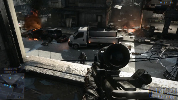 Battlefield 4: como usar o cenário a seu favor (Foto: Reprodução)