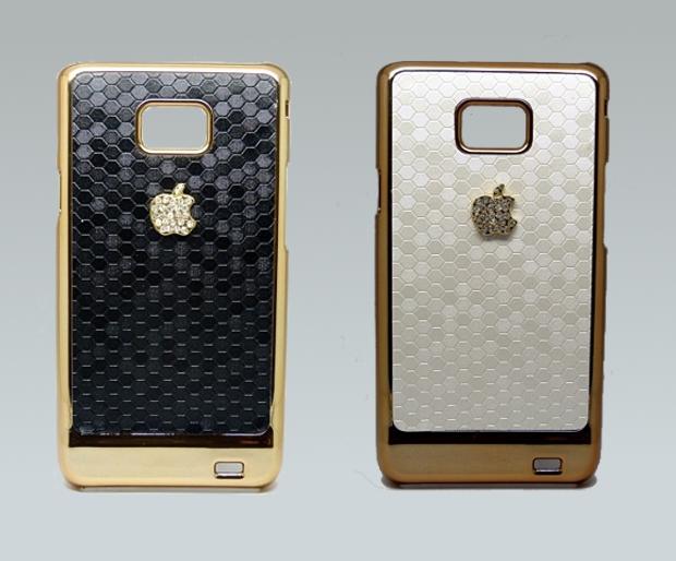Capas Escamas, para Galaxy S2, traz logo da Apple (Foto: Divulgação/Mundo Capas)
