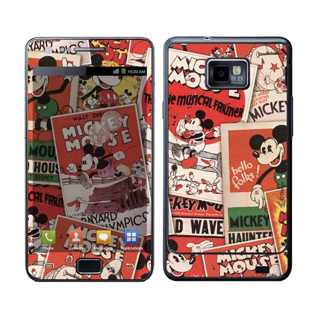 Skin I Stick do Mickey para Samsung Galaxy S2 (Foto: Divulgação/Extra)