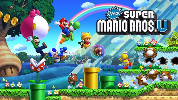 Wii U: confira os games disponíveis no lançamento do console no Brasil New-super-mario-bros-u