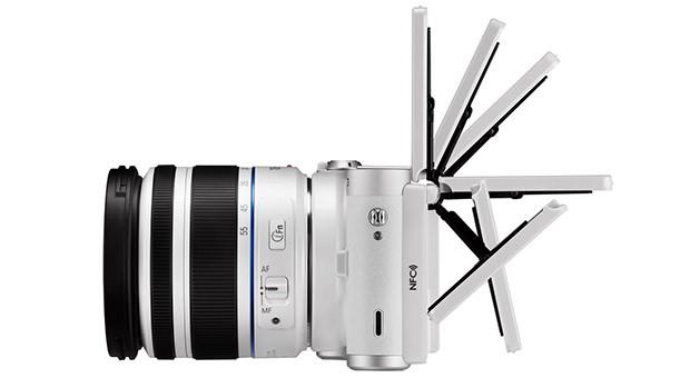 Smart camera da Samsung será primeiro dispositivo com Tizen OS. (Foto: Reprodução / Engadget)