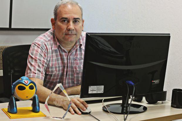 Marcio Vivas: Criou tanto o game Chromabot quanto a comunidade gamer Finalboss (Foto: Arquivo Pessoal)