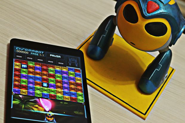 Chromabot passou pela mão de duas equipes no desenvolvimento (Foto: Arquivo Pessoal)