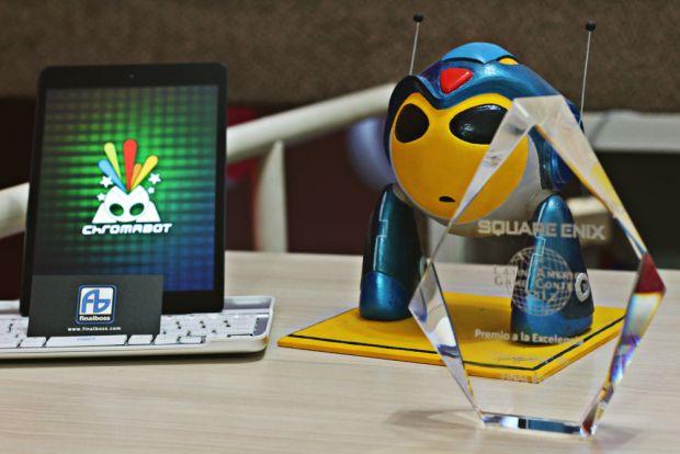 Prêmio da Square Enix estimulou o desenvolvimento do Chromabot (Foto: Arquivo Pessoal)
