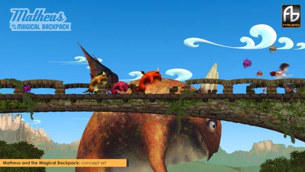 O novo jogo Matheus aposta na engine Unity 3D para dar vida às criaturas fantásticas (Foto: Divulgação)