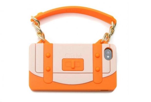 Capa-Bolsa, fabricada em silicone (Foto: Divulgação/Capas para iPhone)