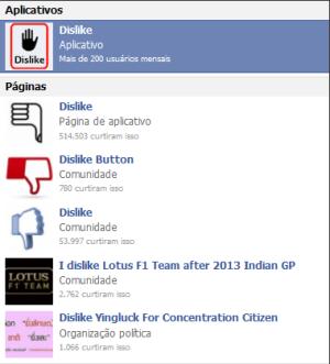 Aplicativos que prometem a instalação do botão dislike no perfil do Facebook são vírus (Foto: Reprodução/Lívia Dâmaso)