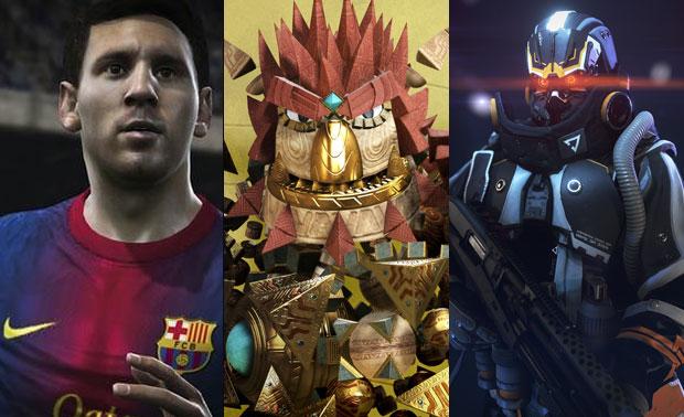 Fifa 14, Hack e Killzone Shadowfall são alguns dos destaques no lançamento do PS4 (Foto: Reprodução / TechTudo)