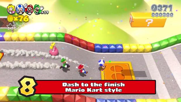 Super Mario 3D World promete muitas novidades (Foto: Reprodução)