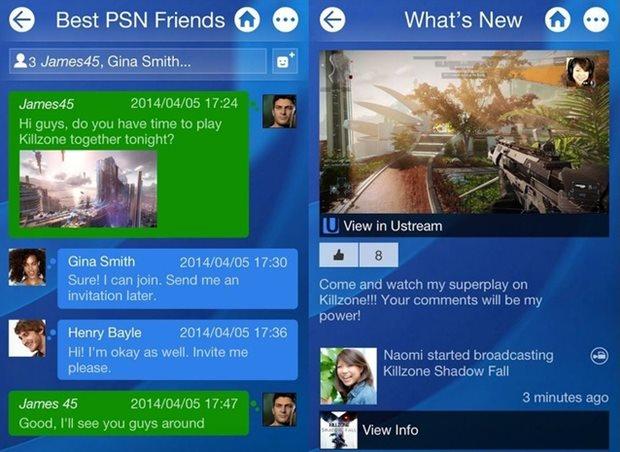 PlayStation App dá acesso a lista de amigos e streamings (Foto: Divulgação)