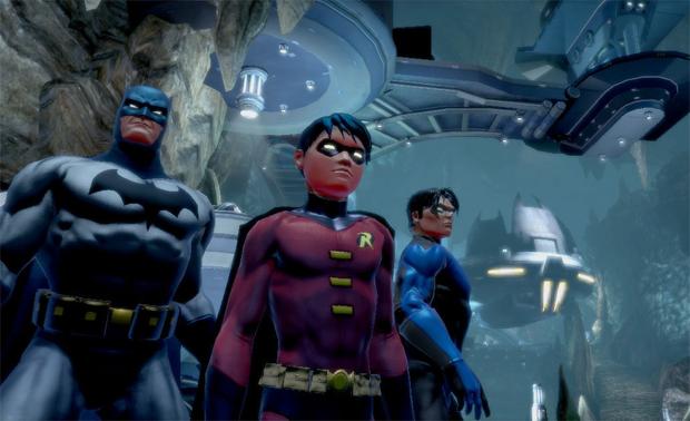 DC Universe Online é um dos games grátis do PS4 (Foto: Divulgação)