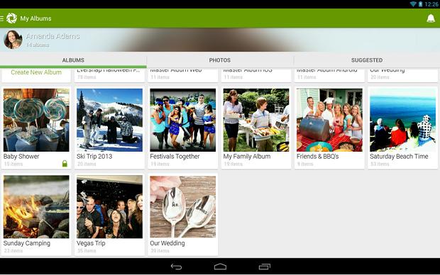 O Eversnap é um aplicativoque permite a criação de álbuns colaborativos de fotos e vídeos (Foto: Divulgação)