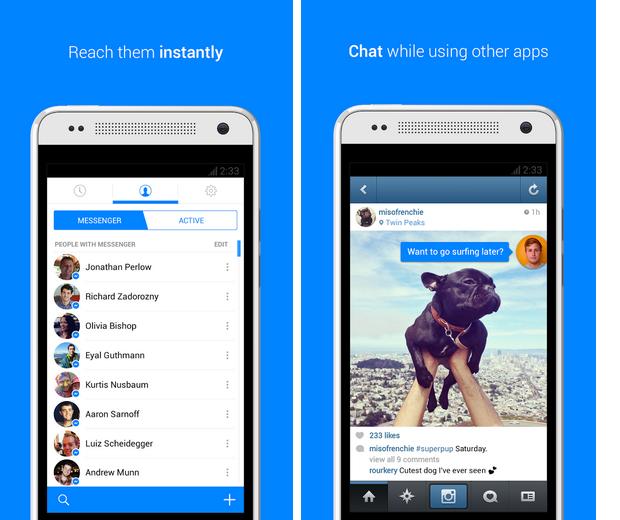 Facebook Messenger está de aparência nova para Android (Foto: Divulgação)