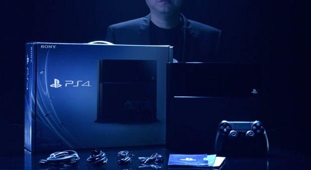 A caixa do PS4 e todo o seu conteúdo (Foto: Divulgação)