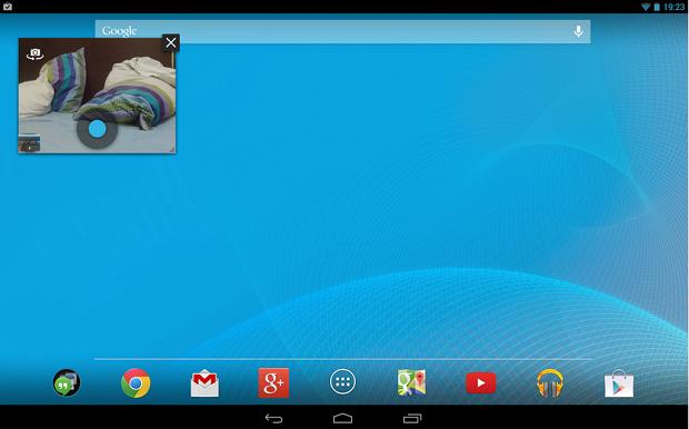 Snapy é um aplicativo que coloca o disparador da câmera do seu Android por cima de qualquer tela (Foto: Divulgação)