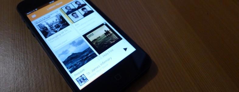 Google Play Music está disponível para download no iPhone (Foto: Reprodução / The Next web)