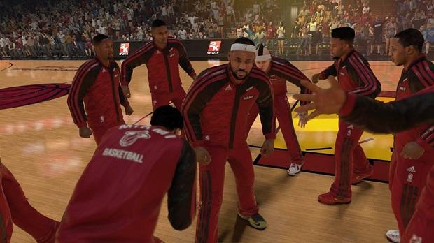 Visual do NBA 2K14 no PS4 é incrível (Foto: Reprodução/Thiago Barros)