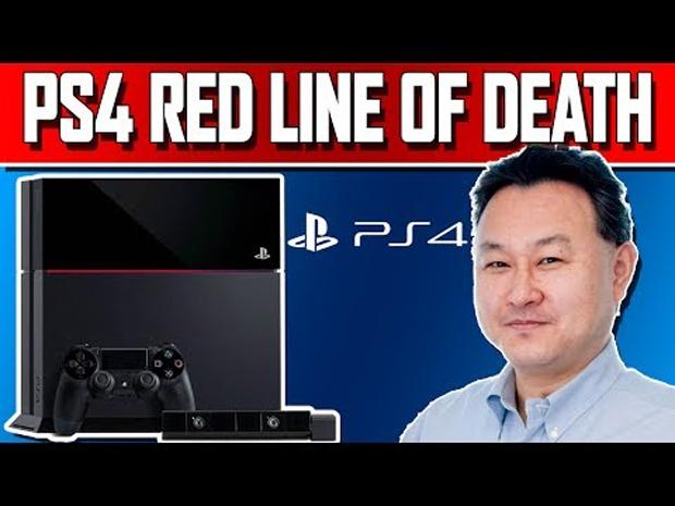 Luz Vermelha da Morte assusta usuários do PS4 (Foto: Reprodução/VideoGamesAndNews)