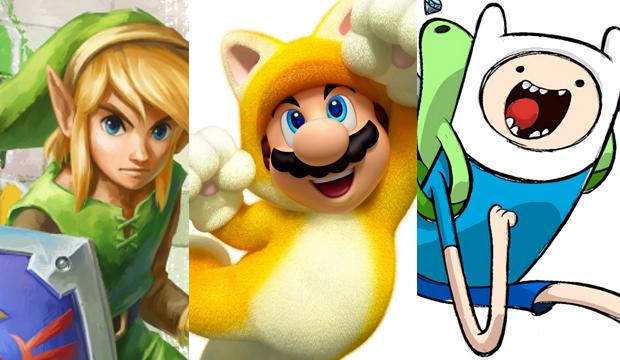 Zelda, Mario e Hora da Aventura nos lançamentos da semana (Foto: Reprodução)