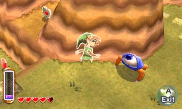 The Legend of Zelda: A Link Between Worlds (Foto: Divulgação)