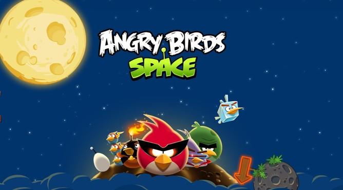 Angry Birds Space (Foto: Divulgação/BlackBerry)