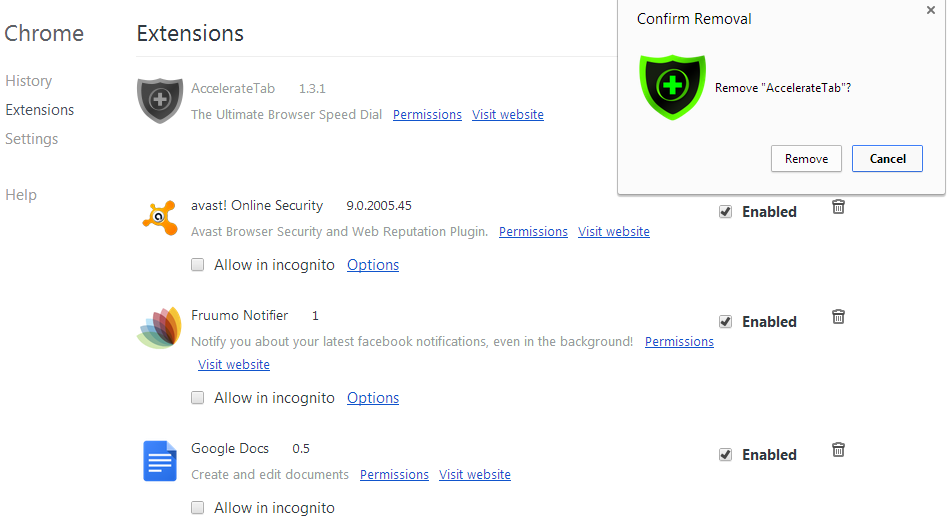 Lista de extensões do Google Chrome (Foto: Reprodução/Marcela Vaz)