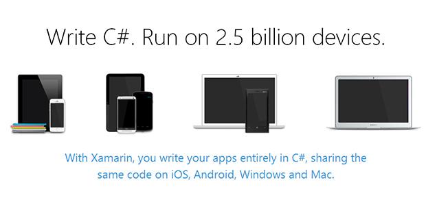 Parceria com Xamarin torna Visual Studio capaz de lidar com diversos sistemas operacionais (Foto: Reprodução/Xamarin)