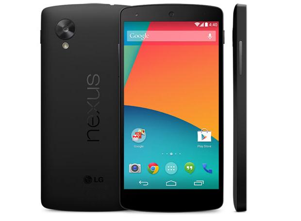 Smartphones Android, com o Nexus 5, deverão ganhar upgrade na câmera graças a uma atualização do código do sistema (Foto: Divulgação)