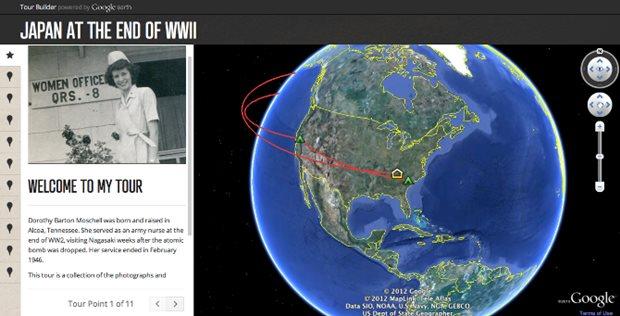 Histórias de veteranos de guerra foram o foco inicial do Tour Builder (Foto: Divulgação)