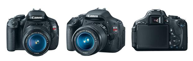 Canon T3i tem sensor de 18 megapixels e visor giratório para facilitar fotos e gravações de vídeo (Foto: Divulgação/Canon)