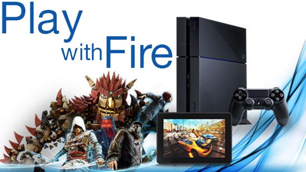 Kindle Fire ganhará compatibilidade com o PlayStation 4 antes do final do ano (Foto: theverge.com / Reprodução: Rafael Monteiro)