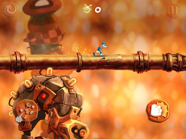 Review: Rayman Fiesta Run retorna com jogabilidade e criatividade em dia (Foto: reprodução/Murilo Molina)