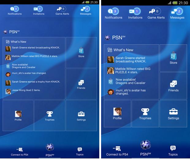 App oficial do PS4 funciona no Android e no iOS (Foto: Divulgação)