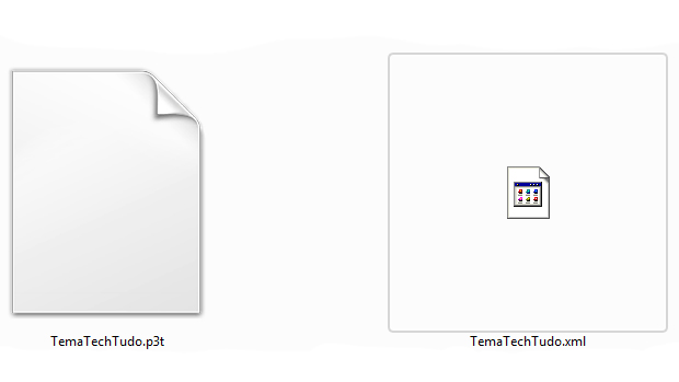 Arquivo xml deve ser renomeado. (Foto: Reprodução)