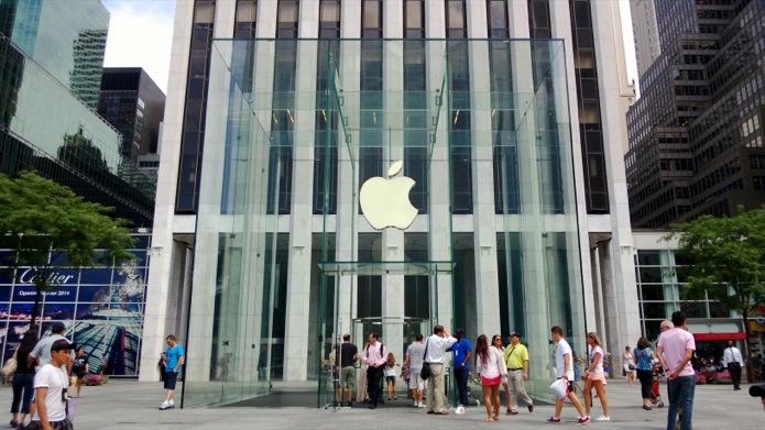 Apple Store em shopping carioca já está quase pronta; veja fotos (Foto: Allan Melo/TechTudo)