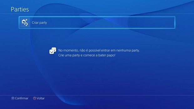 PSN agora tem chat de grupo - e com voz (Foto: Reprodução/Thiago Barros)