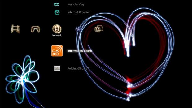 Tema do PlayStation 3. (Foto: Reprodução)