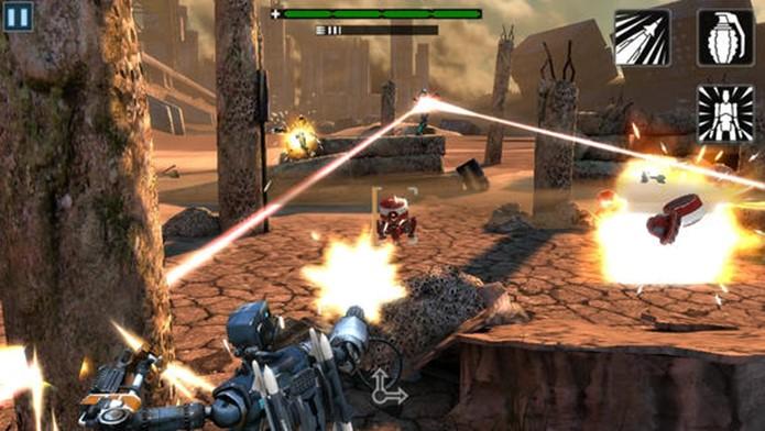 EPOCH.2 é um jogo de tiro ambientado em um futuro nefasto para a humanidade (Foto: Divulgação)