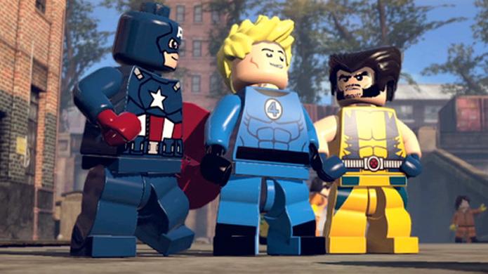 Capitão América, Tocha Humana e Wolverine estão entre os personagens de LEGO Marvel Super Heroes (Foto: pastemagazine.com)