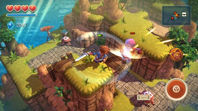 """Oceanhorn se inspira em """"Legend of Zelda"""" mas tem seus próprios méritos (Foto: Divulgação)"""